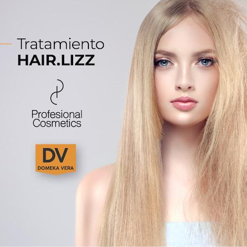 Línea Hair Lizz Alisador Deep Cleansing Shampoo 1000ml. Limpia en profundidad, nutre e hidrata el cabello. Con Keratina y Ácido Hialurónico.