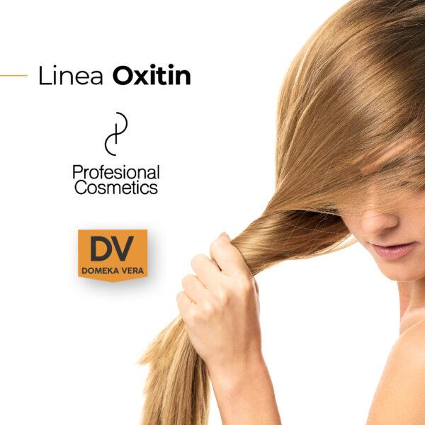 Publicidad Oxitin Agua Oxigenada 1000ml.Oxigenada en crema estabilizada, especialmente formulada para ser mezclada con la coloración Artecolor.
